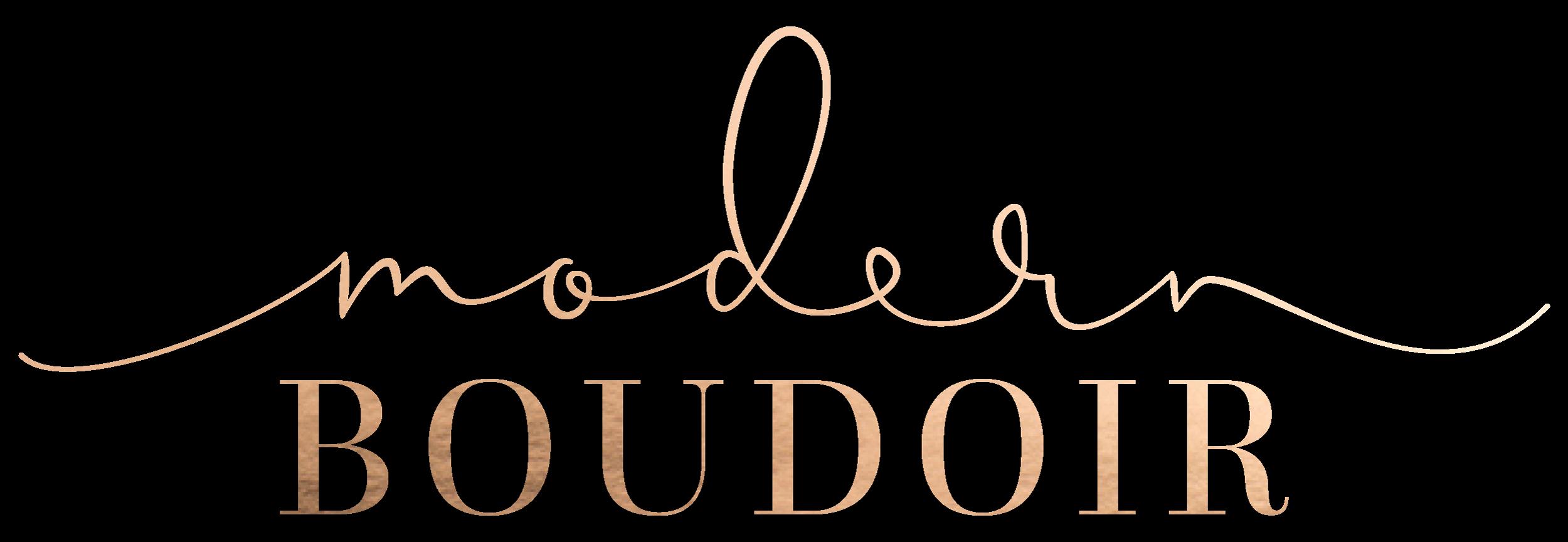 Modern Boudoir - Iowa boudoir photography for all women